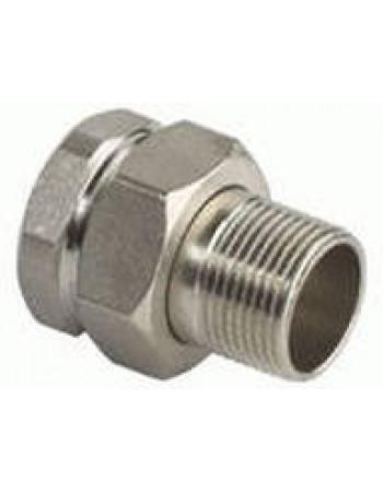 itap 161 3\4 Соеденитель прямой никелированный