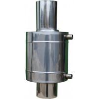 Теплообменник на трубу  8 л. 0,8мм