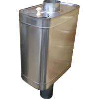 Бак на трубе для воды в баню 50 л.