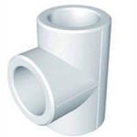 FIRAT Тройник d=20 мм для полипропиленовых труб под сварку (цвет белый)