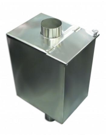 Бак для воды в баню  60л. 1 мм