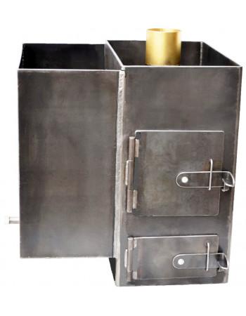 Печь банная приварная 6 мм.